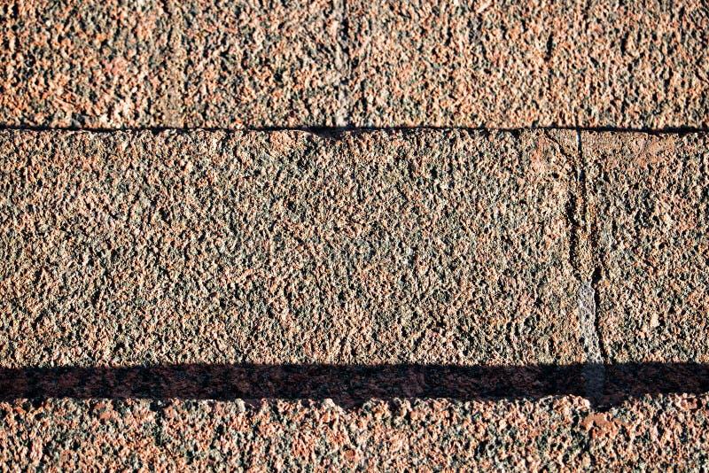 Tekstura granitowi schodki z góry zdjęcie royalty free