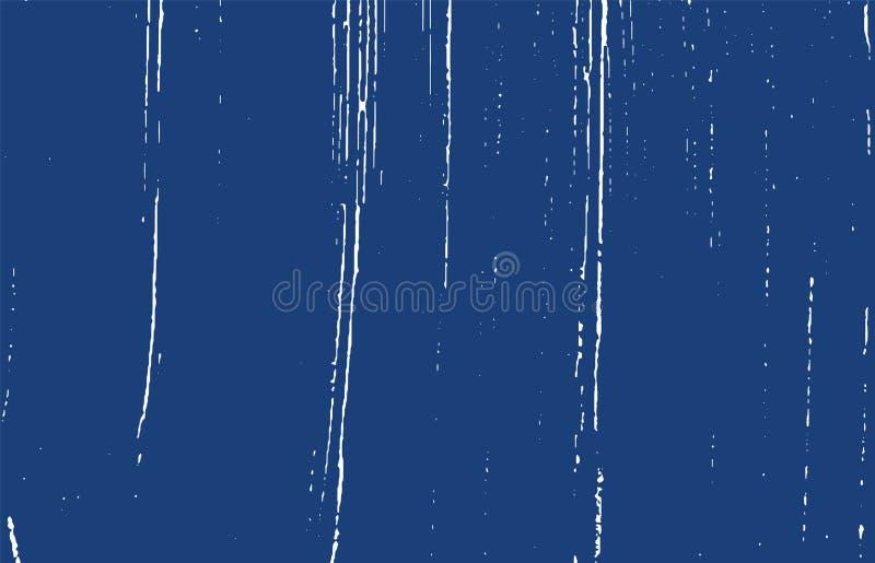 Tekstura Grunge Distress indigo szorstki ślad Excel ilustracji