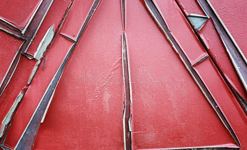 Tekstura jest kruszcowa Przemysłowy tło od stary ośniedziałego zdjęcie royalty free