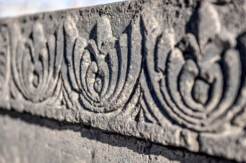Tekstura kamienia rzeźba armenians obrazy stock