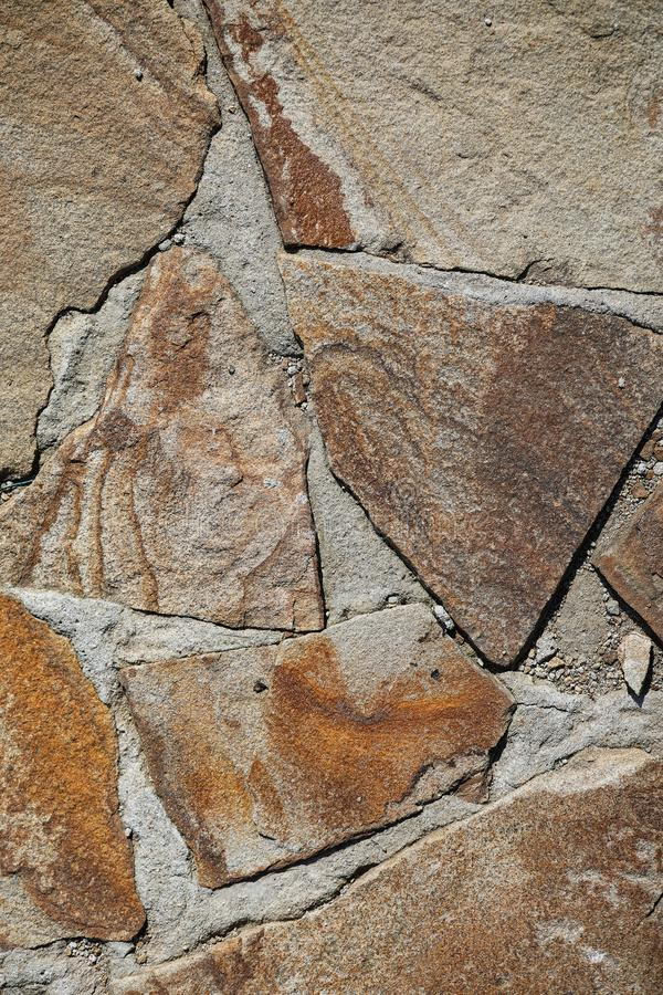 Tekstura kamienie Kamień textured płytka Kamienny wzór dalej fotografia royalty free