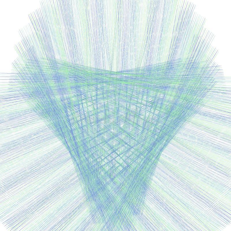 Tekstura linii prostej wzorka spirografu Puste, lekkie tło użyteczne w przypadku świadectwa, dyplomu, dokumentu urzędowego, forma ilustracja wektor
