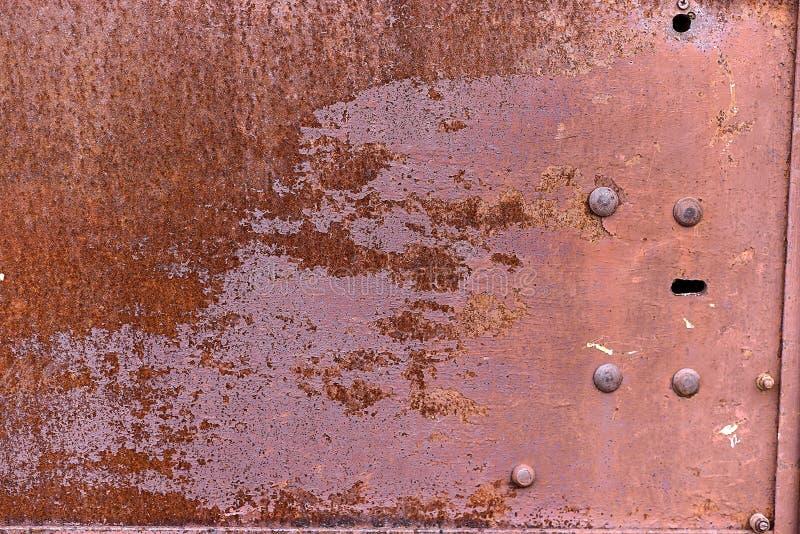 Tekstura metali drzwi zdjęcia stock