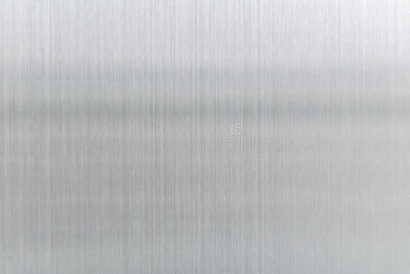tekstura metalu tło oczyszczony stalowy talerz obraz stock