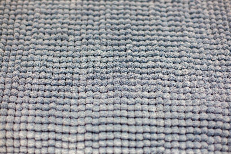 Tekstura miękka część popielaty dywanik w łazience zdjęcie royalty free