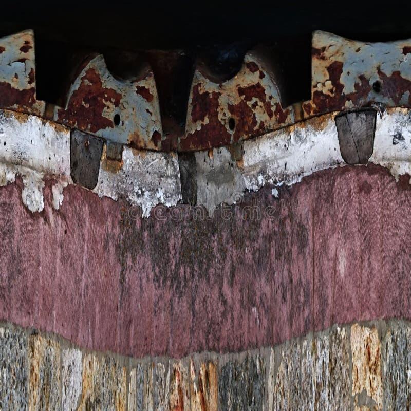 Tekstura Millstone obrazy royalty free