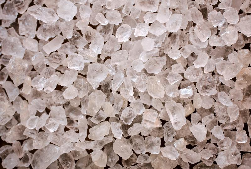 Tekstura morze soli kryształy zdjęcie royalty free