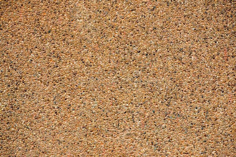 Tekstura myjący piaska tło Mały piaska kamień piasek ściany tekstura fotografia royalty free