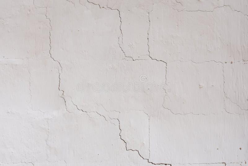 Tekstura na białej ścianie zdjęcia royalty free