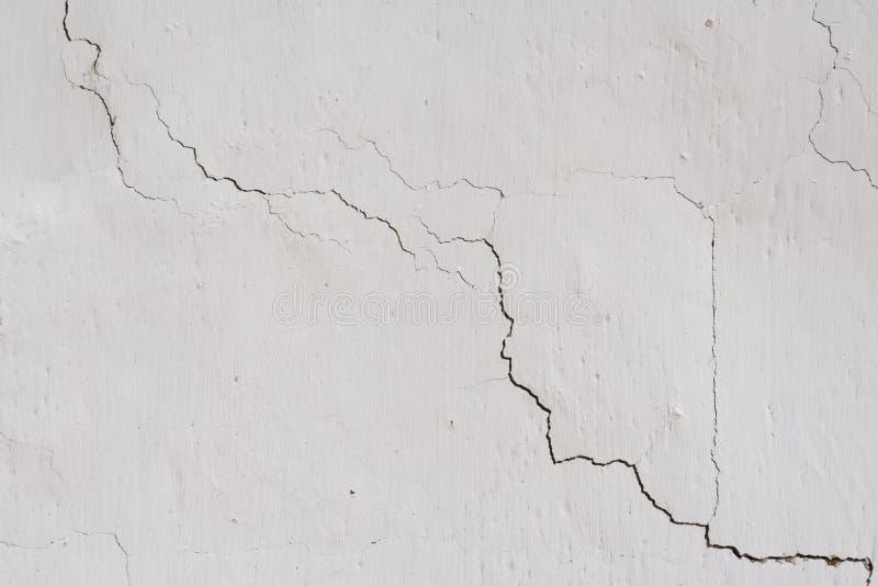 Tekstura na białej ścianie fotografia stock