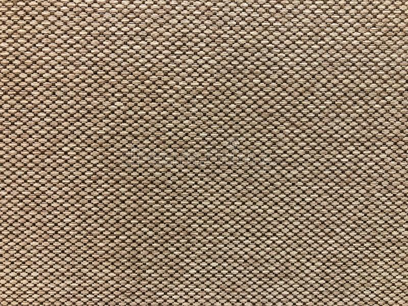 Tekstura na Brown tkaniny wzorze zdjęcia stock