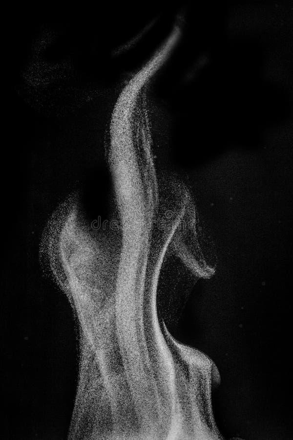Tekstura narzuta opary, puste miejsce fo dymny lub wodny, wizerunek, obraz stock