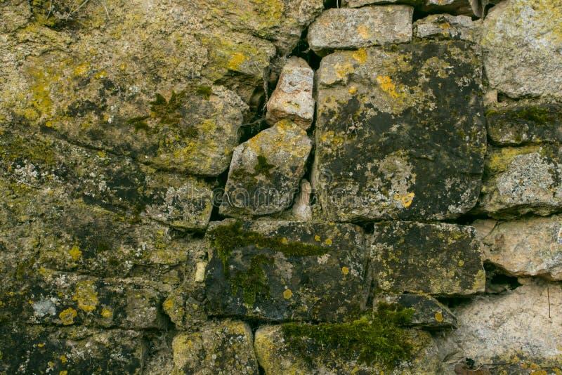 Tekstura od wzoru uzyskiwał od fałdowych kamieni obraz stock
