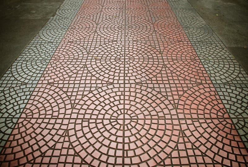 Tekstura odsłonięta cementowa podłoga taflująca obraz royalty free