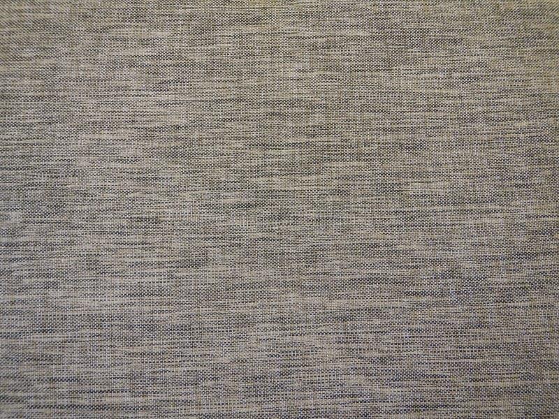 Tekstura popielata beżowa tkanina obraz stock