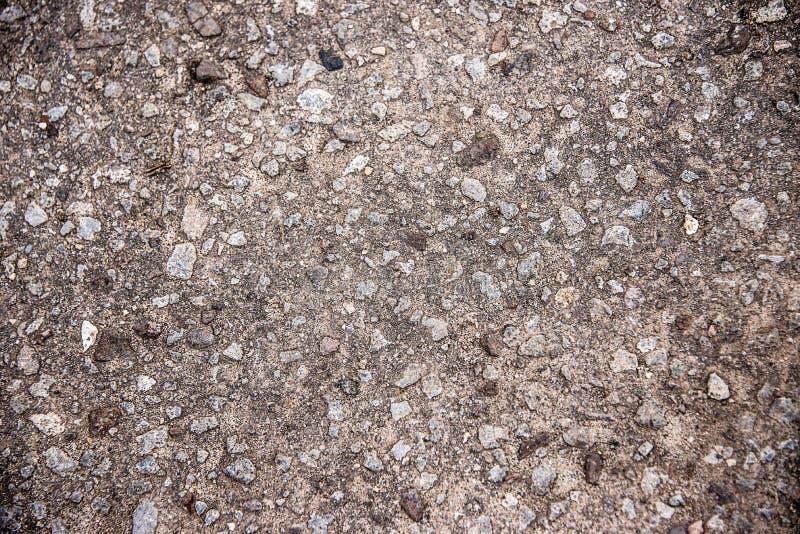 Tekstura popielata mokry asfalt obrazy stock