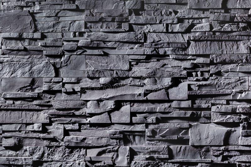 Tekstura popielaty stonewall fotografia stock