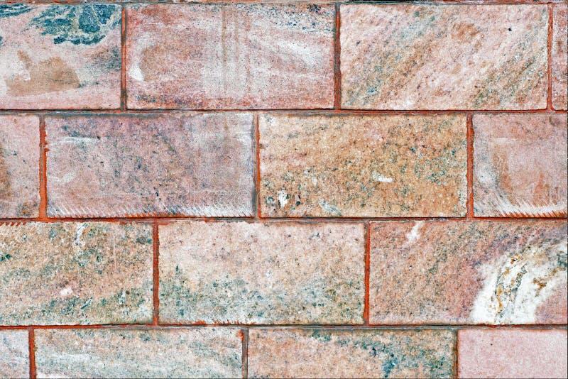 Tekstura różowa marmur płytka, tło fotografia royalty free