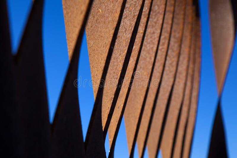Tekstura rdzewiejący żelazny tło zdjęcie stock
