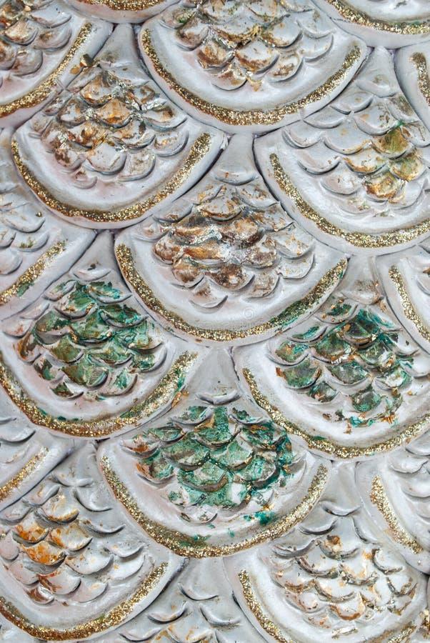 Tekstura smok Waży. obrazy royalty free