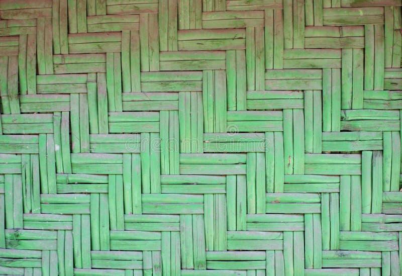 Tekstura stara bambus mata fotografia royalty free