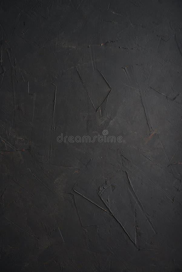Tekstura stara czarna betonowa ściana obrazy royalty free