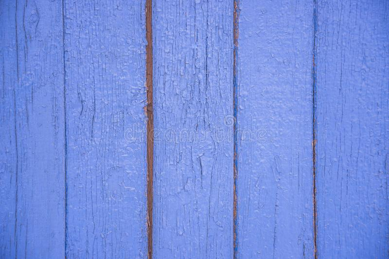 Tekstura stary błękit wsiada vertical obraz royalty free