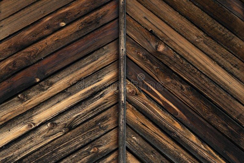 Tekstura stary palący w pożarniczych drewnianych deskach obraz royalty free