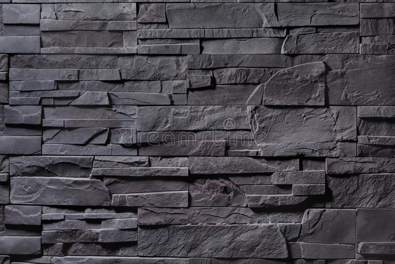 Tekstura szara kamienna ściana obrazy royalty free