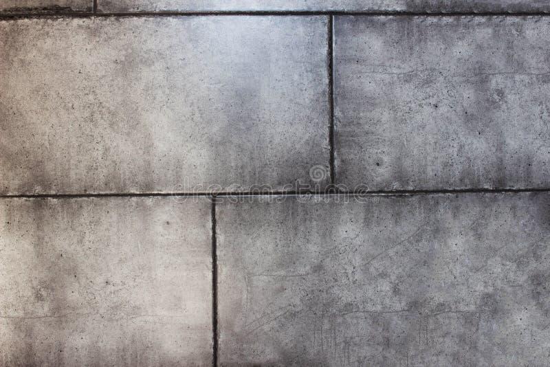 Tekstura szara modna ściana betonowi bloki, w górę, tło, bezwzględność fotografia stock