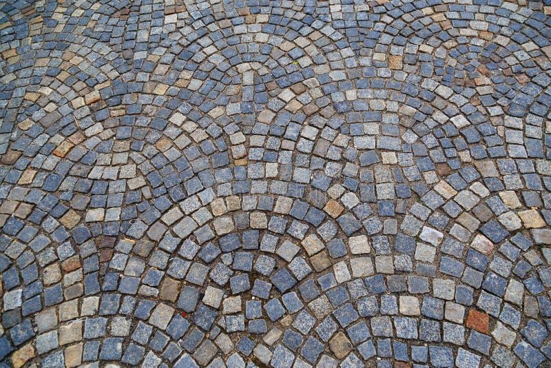 Tekstura szarość kamienia płycizny kwadrata brukarze obrazy stock