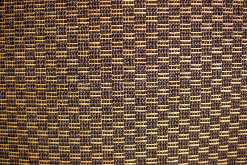 Tekstura szorstki wyplata dywan, arkana Wyplata fotografia stock