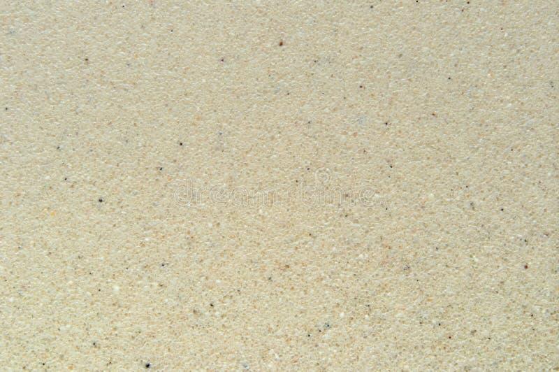 Tekstura sztuczny ceramicznego narzutu piaska brąz zdjęcia stock