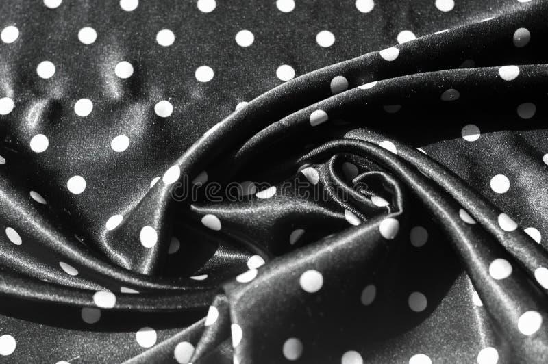 Tekstura, tło, wzór Dziewczyny spódnica Jedwabnicza tkanina na bla obraz stock