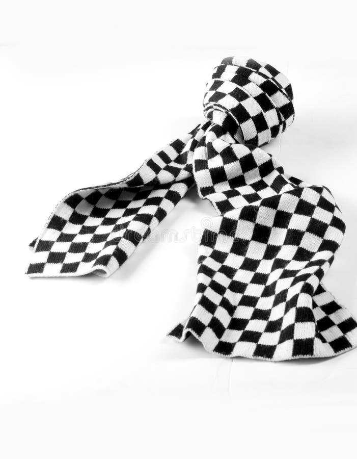 Tekstura, tło, wzór Szalik chusty tippet szkocka krata biała i ilustracji