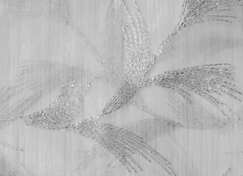 Tekstura, tło, wzór Tiul jest biały Rocznika tiulu chif zdjęcia royalty free