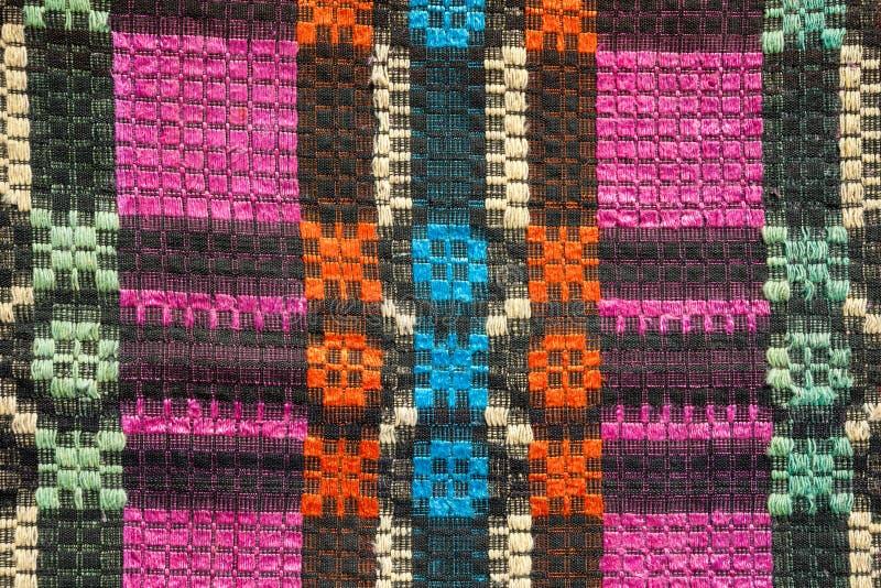 Tekstura tradycyjna kolorowa dywanik tkanina Etniczny nieociosany carpe zdjęcie royalty free