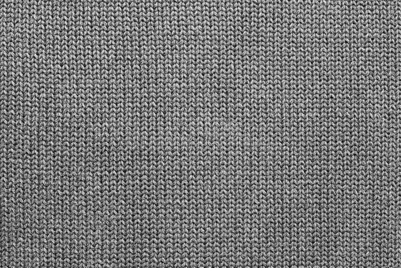 Tekstura trykotowa woolen tkanina zdjęcia stock