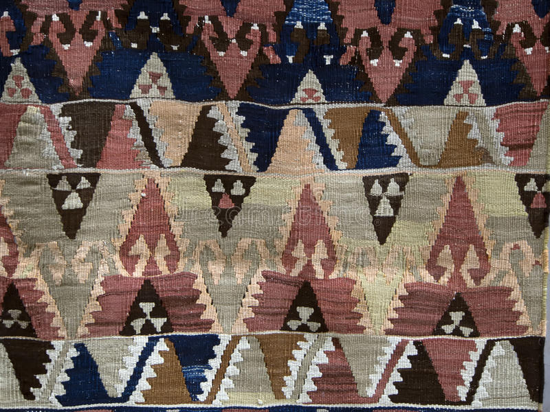 Tekstura Turecki dywan fotografia stock
