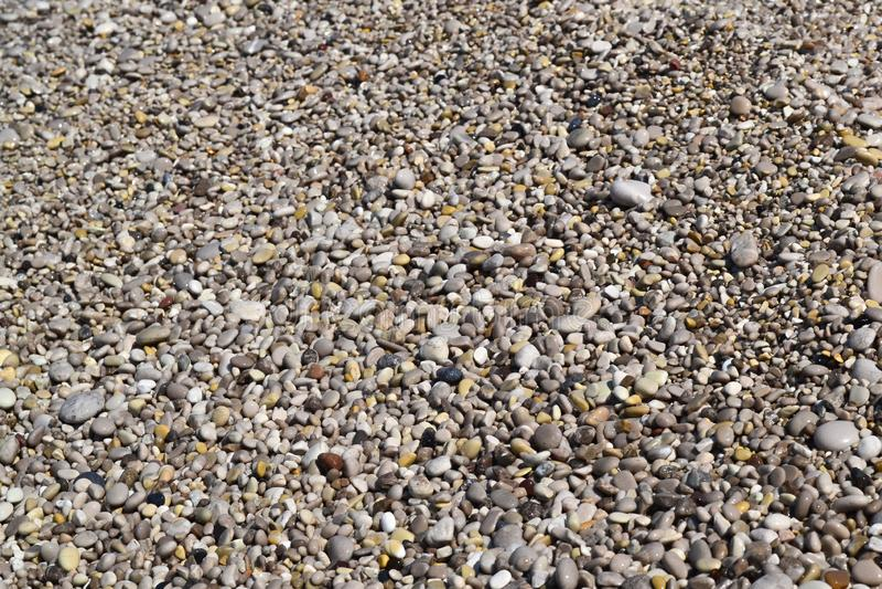 Tekstura wiele stubarwni pi?kni round i owalu g?adcy naturalni kamienie, otoczaki verdure pozyskiwania ?rodowisk gentile fotografia royalty free