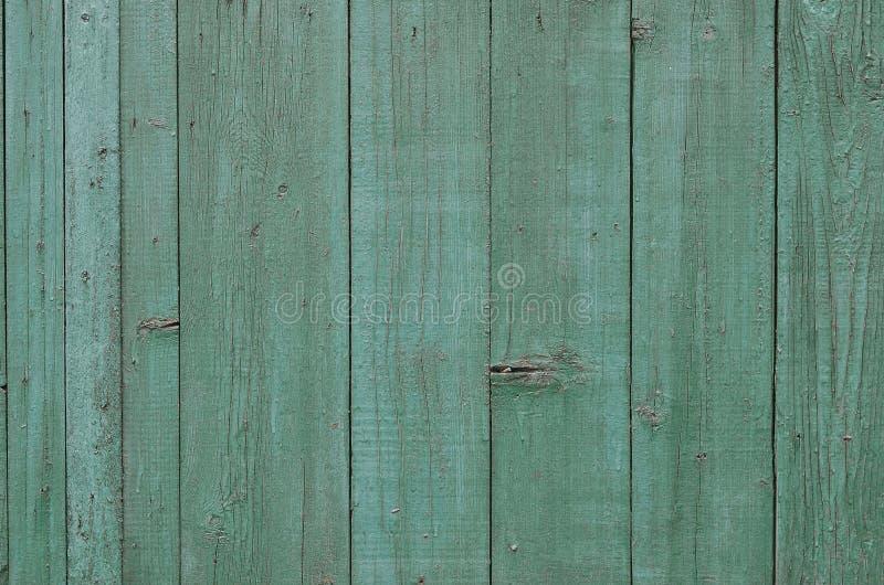 Tekstura wietrzejąca drewniana ściana Starzejący się drewniany deski ogrodzenie pionowo mieszkanie deska obraz stock