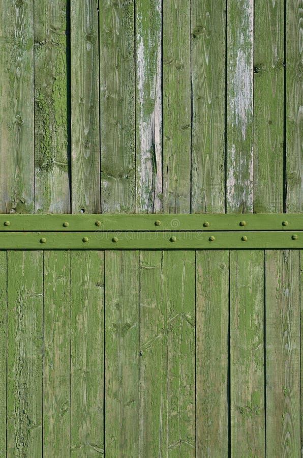 Tekstura wietrzejąca drewniana ściana Starzejący się drewniany deski ogrodzenie pionowo mieszkanie deska zdjęcie royalty free