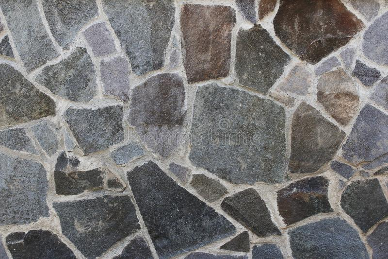 Tekstura wzór kolorowi kamienie obrazy royalty free