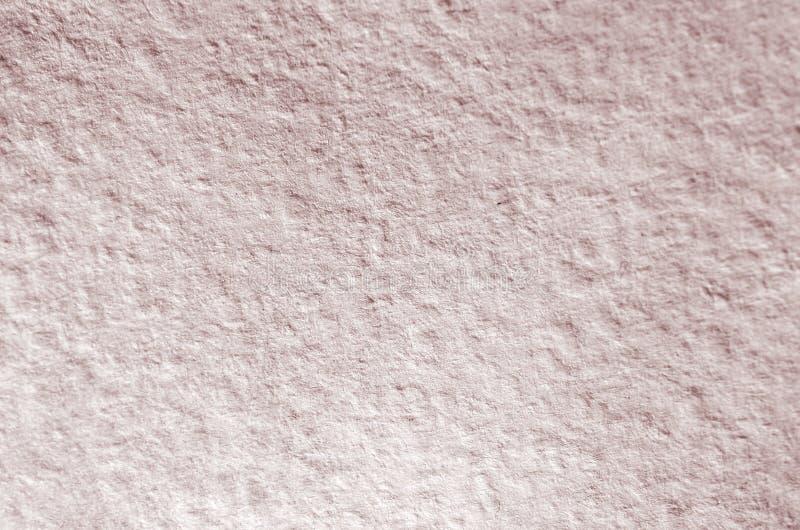 Tekstura zamierzająca dla akwarela obrazu gęsty papier Makro- zdjęcie szczegóły ulga papieru struktura obraz royalty free