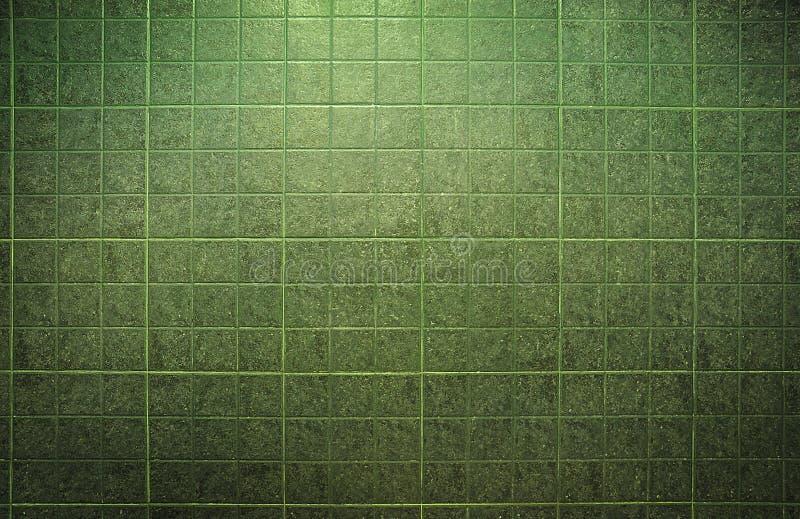 Tekstura zielone płytki ilustracji