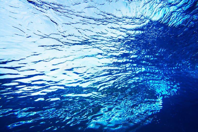 tekstury abstrakcjonistyczna woda fotografia stock