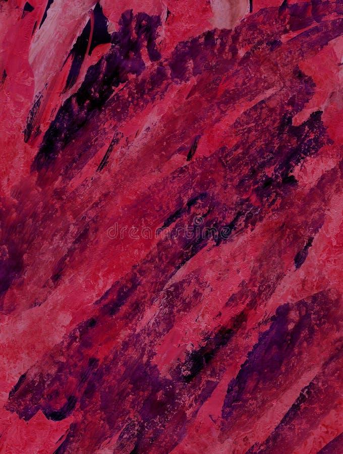 Tekstury akrylowa czerwień, kraplak, grże kolory dla tła ilustracji