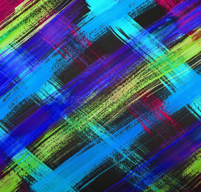Tekstury akwarela maluje jaskrawych uderzenia linia, maluje jaskrawych uderzenia geomorfologiczny abstrakcja ilustracji