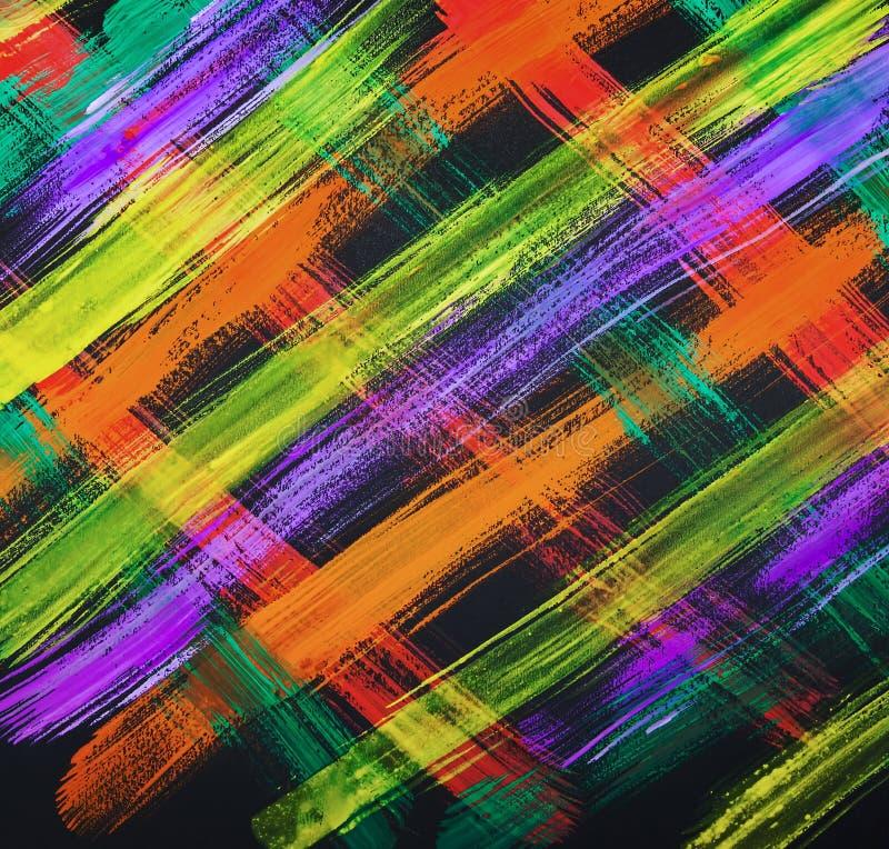 Tekstury akwarela maluje jaskrawych uderzenia linia, maluje jaskrawych uderzenia geomorfologiczny abstrakcja ilustracja wektor