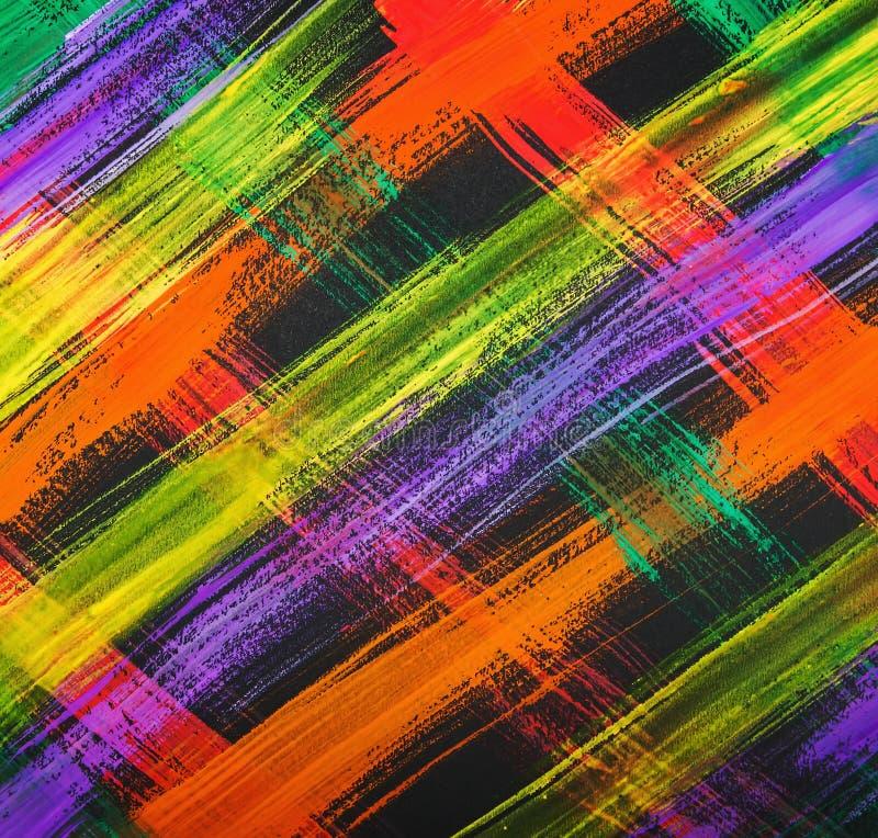 Tekstury akwarela maluje jaskrawych uderzenia linia, maluje jaskrawych uderzenia geomorfologiczny abstrakcja royalty ilustracja